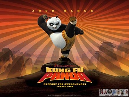 """看《功夫熊猫》,与""""熊猫约会""""(一)"""